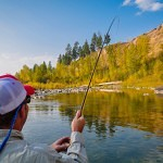 Float Fishing the Blackfoot River in Fall