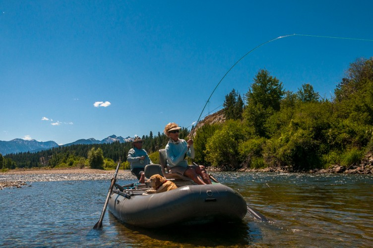 Montana fly fishing montana trout outfitters for Fly fishing vacation montana