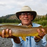 Summer Blackfoot brown trout