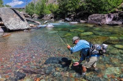Montana fly fishing guides - hidden creeks- streams - lakes