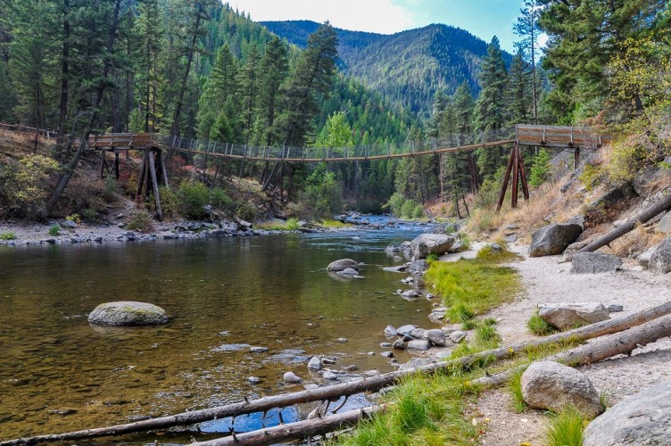 Montana fly fishing montana trout outfitters for Rock creek montana fishing report