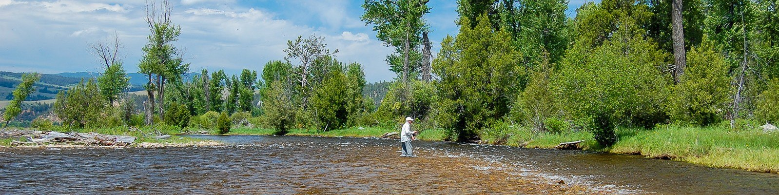 Montana Fishing Guides - Wading for Trout