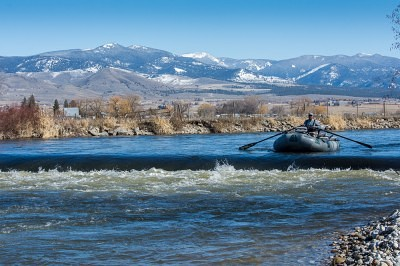 Bitterroot river float during skwalas