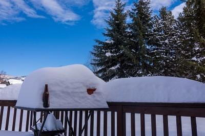 big snow in Missoula