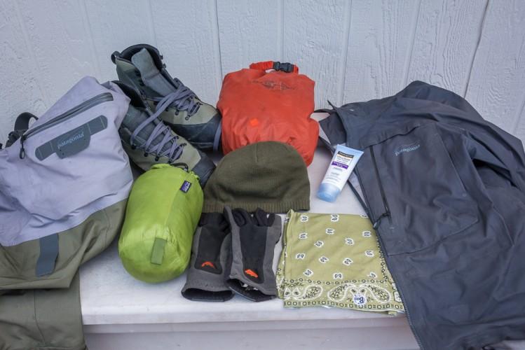Montana Fly Fishing Trip gear