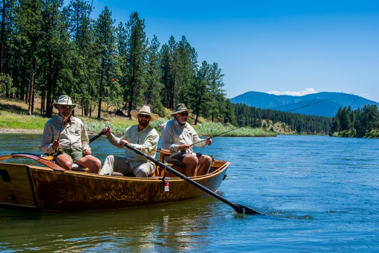 Missoula fly fishing guides the day off montana trout for Missoula montana fly fishing