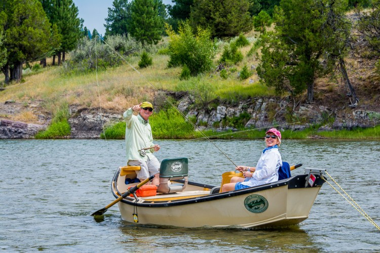Drift boat fly fishing tips part 2 montana trout for Fly fishing boats