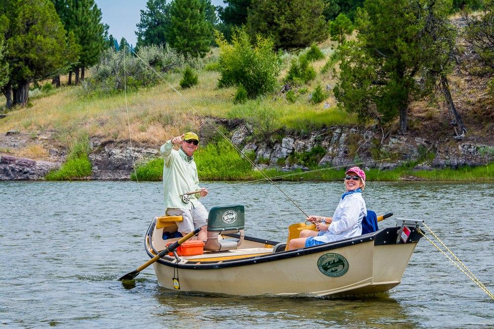 Drift boat fly fishing tips part 2 montana trout for Drift boat fishing