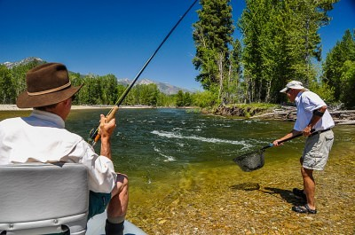 Guided Montana Fly Fishing on the Bitterroot River