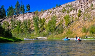 Montana fly fishing guides - Blackfoot River