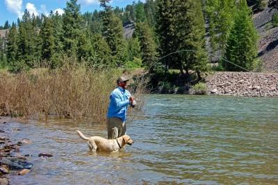 Fishing the Blackfoot River