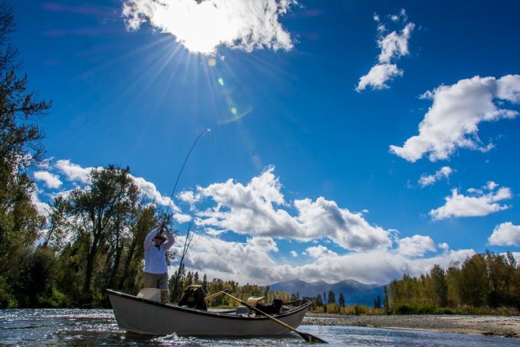 Drift Boat Fly Fishing Tips