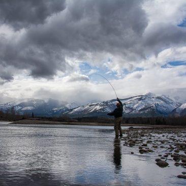 image of early season fishing