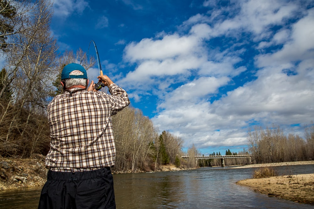 Missoula fishing report for 3 20 2017 montana trout for Missoula fishing report