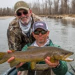 image of Missoula spring fishing