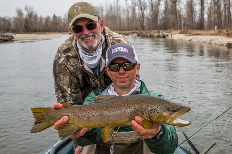 image of Missoula spring fishing