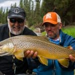 image of big brown trout in missoula montana