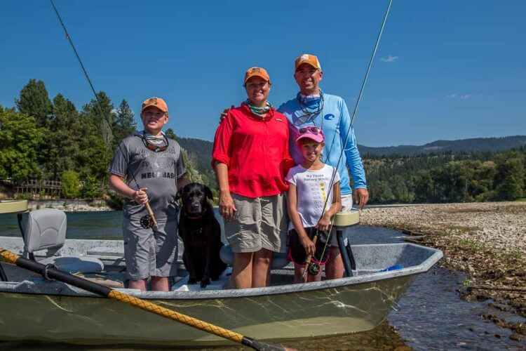 Tony Reinhardt & Family of Montana Trout Outfitters