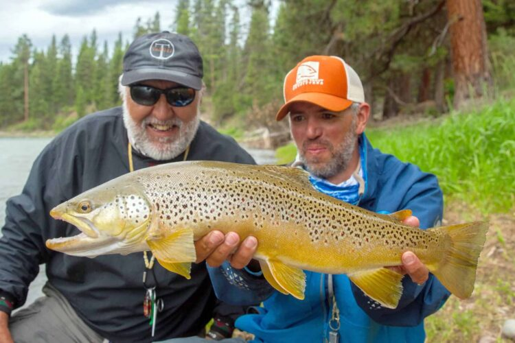Blackfoot River Fly Fishing - Montana Trout Outfitters