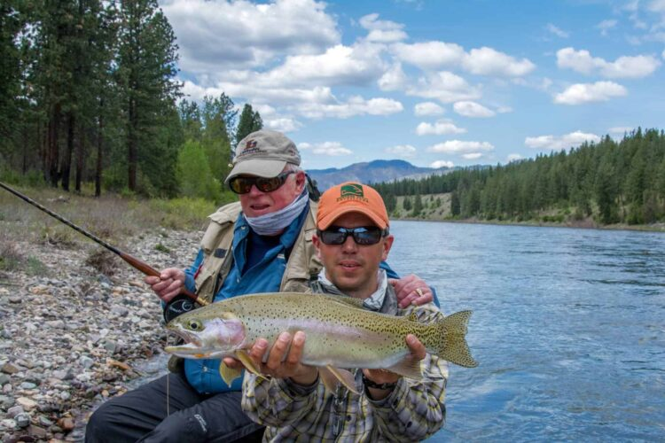 Clark Fork Trout Fishing - Montana Trout Outfitters