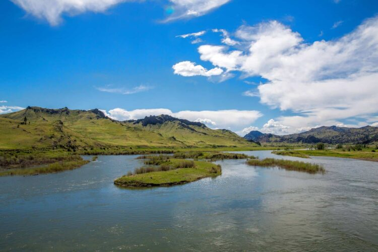 Missouri River Fly Fishing Montana Trout Outfitters