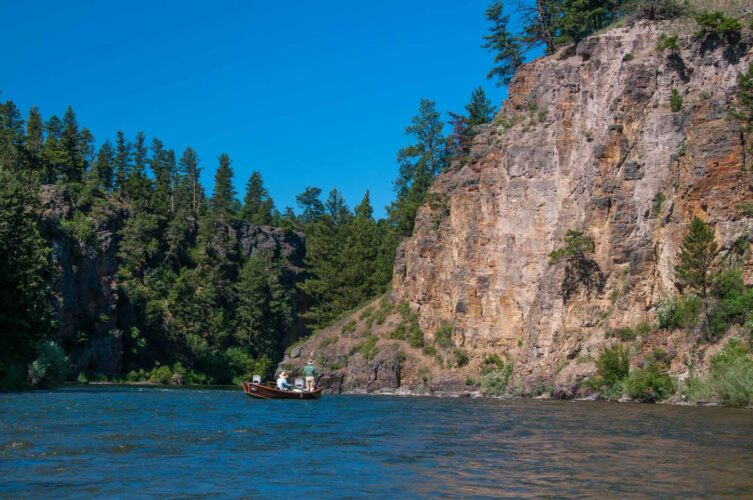 Blackfoot River Fishing - Montana Trout Outfitters