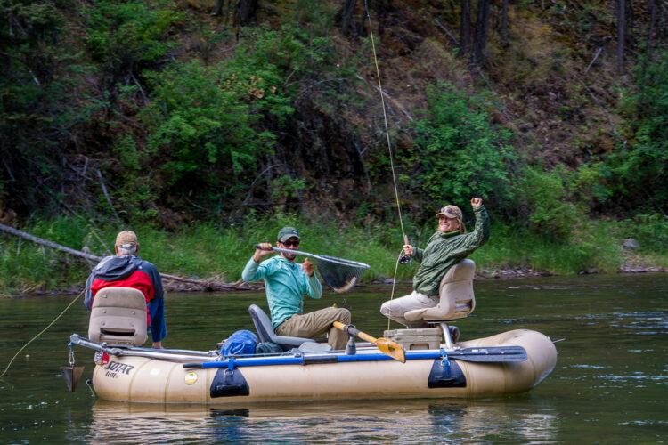 Blackfoot River Fishing Guide - Catching Fish