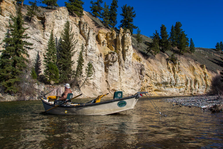 Fly Fishing on the Blackfoot River