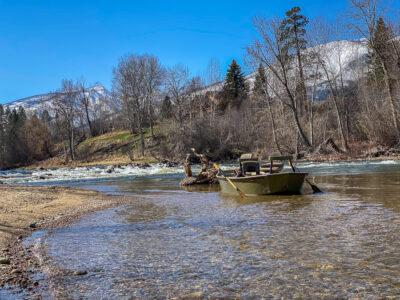Bitterroot River Rises - Beautiful Trout Fishing Weather