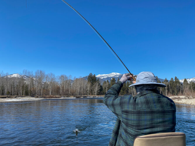 First fish of Missoula Fly Fishing Season 2021