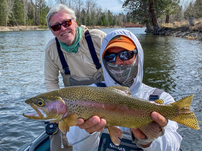Jim with another beefy rainbow
