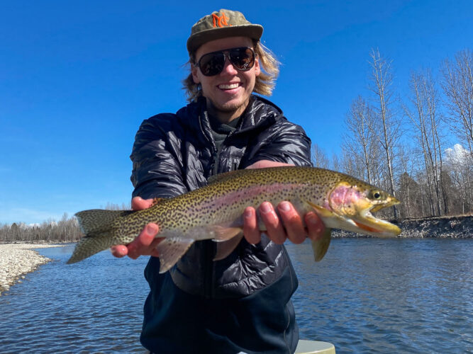 Missoula Fly Fishing Report - March Trout Fishing