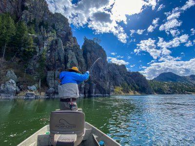 Big Trout - Missouri River Fishing
