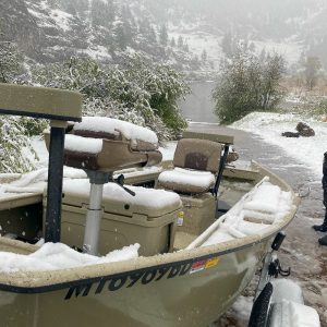 Wild Weather Trout Fishing