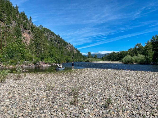 Morning on the upper Clark - Missoula Trout Fishing