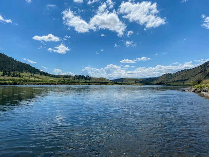 Stunning Big Sky Weather - Best Montana Fishing Guide