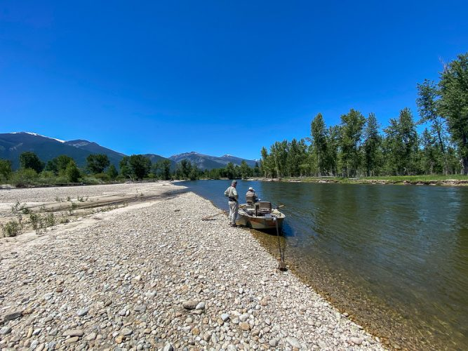 Even tough days at the office are beautiful - Trout Fishing Montana