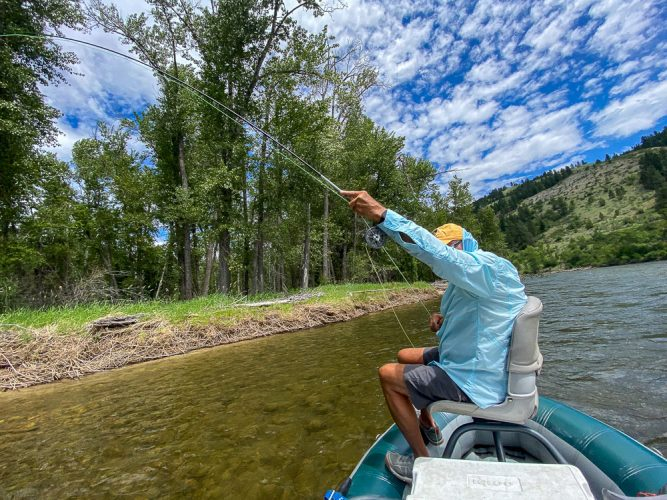 """The other """"No Fish"""" spot that produced today! - Missoula Trout Fishing"""