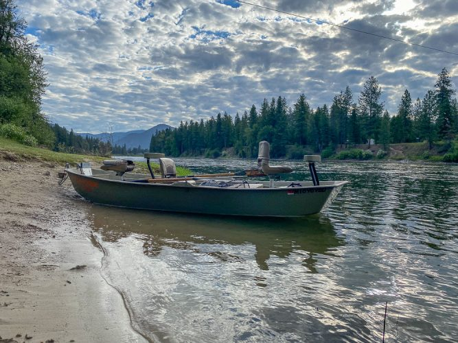 Gorgeous morning on the Clark Fork - Missoula Trout Fishing