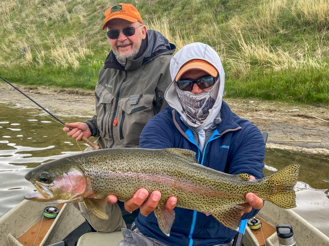 Best Montana Fishing Guide - Montana Trout Outfitters - Tony Reinhardt